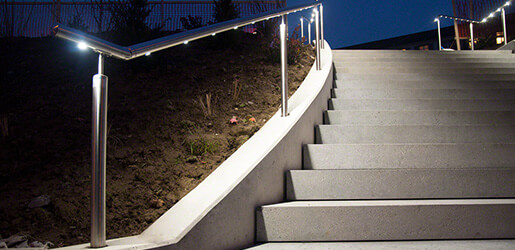 LED Handrail Spotlights