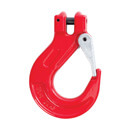 2 Tonne - Lifting Clevis Sling Hook with Latch for 7/8mm Chain - Grade 80