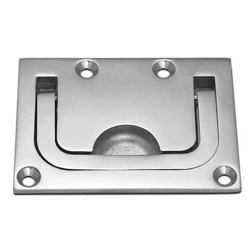 Long Lifting Handle - Rectangular Plate