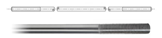 Tie Rod for the SBS-450 Tie Bar System