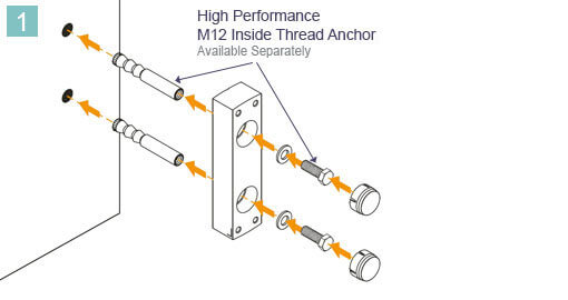 Baluster Mounting Bracket Installation Advice