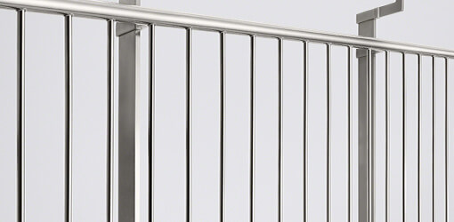 Linear Line Stainless Steel Picket Rail Infill