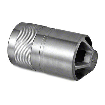 Stainless Steel In-Line Tube Connector - 33.7mm