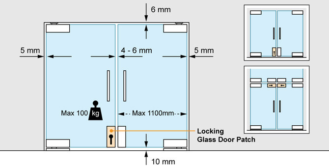 Door Patch - Locking - Positions