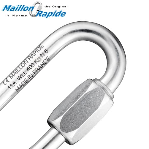 Working Load Limit Stamp - Maillon Rapide Quick Link