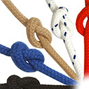 10mm, White, Matt Polyester Rope - Easy To Handle, Soft Rope with Excellent Flex