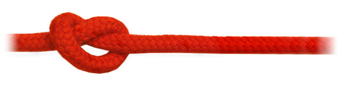 Red Matt Polyester Rope