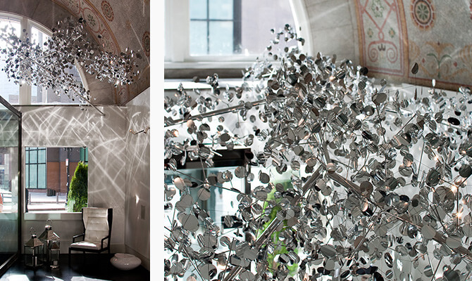 Mirror Cloud Chandelier