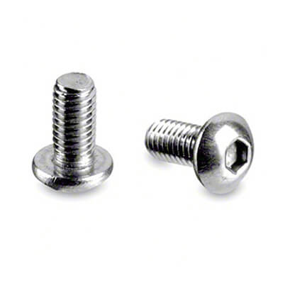 Hex Head Button Cap Screw - Stainless Steel 316