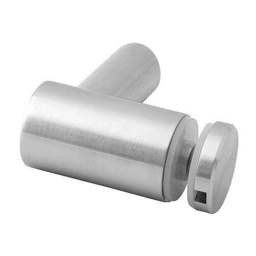 Stainless Steel Glass Adapter-Spider - Tube Mount - 30mm