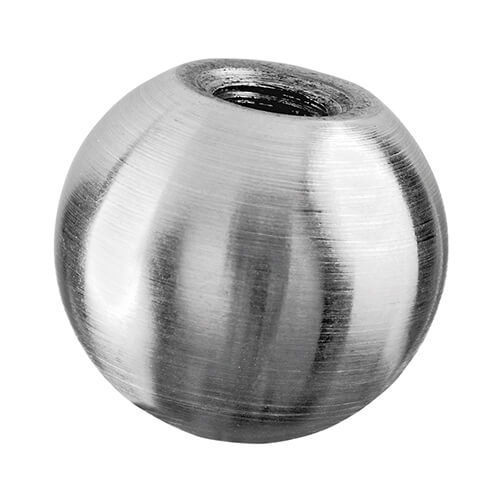 Solid Decorative Balustrade End Ball - Stainless Steel