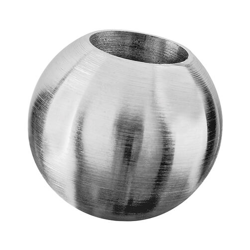 Decorative End Ball For 12mm Bar - Stainless Steel