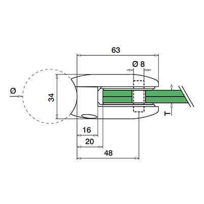 Ultra D Shaped Class Clamp Technical2