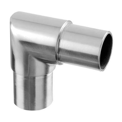 90 Degree Tube Connector - Modular Stainless Steel Balustrade