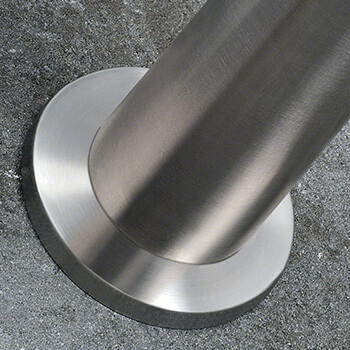 Stainless Steel Balustrade Base Cover Plate with Post