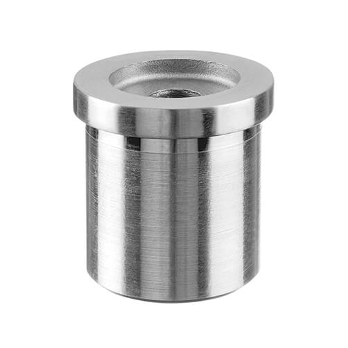 Tube Mounting Adapter With Flat Support For Modular Stainless Steel Balustrade