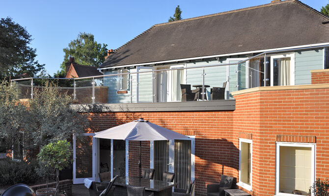 Glass and Stainless Steel Balustrade Installation Pangbourne, Berkshire