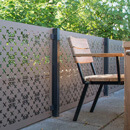 RHS Parterre 3 Panel Balustrade Kit - Aluminium