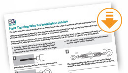 catenary wire installation instructions