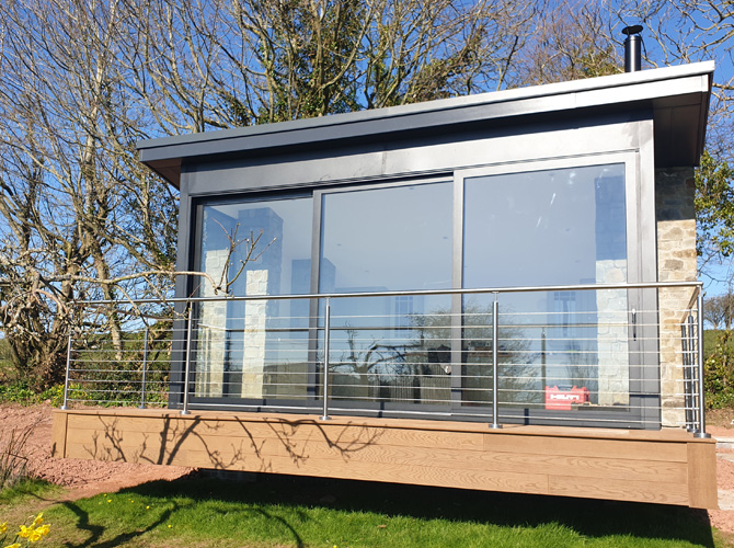Sun Room Stainless Steel Wire Balustrade