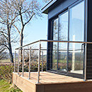 Sun Room Wire Balustrade
