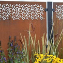 Privacy Garden Screen Kit - Corten Steel