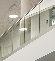 Frameless Pro Balustrade - F Shaped