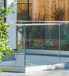 Frameless Pro Balustrade - Top Mount