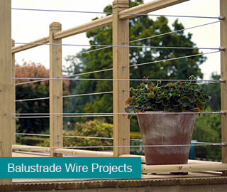Balustrade Wire Projects