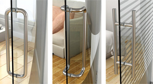 Stainless Steel Glass Door Handles S3i Group