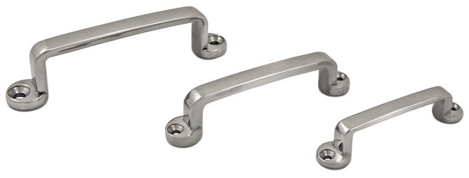 'D' Shaped Stainless Steel Pull Handle Collection