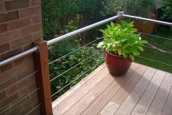 Pureleaf Balustrade