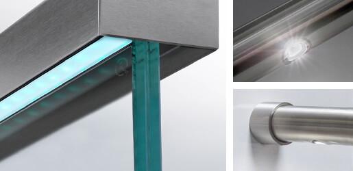 LED Lighting System For Balustrade Handrail & LED Lighting System For Balustrade Handrail | S3i Group