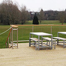 Reading University Deck Balustrade