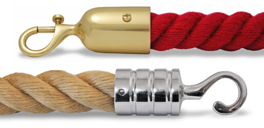 Barrier Rope and Rope End Fittings