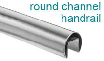 Stainless Channel Handrail