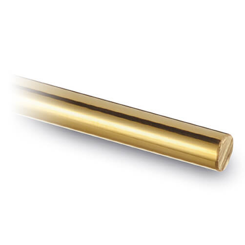 6mm Rod and Bar - Brass Finish