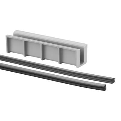 Rubber Insert Set for Easy Glass Hybrid Balustrade