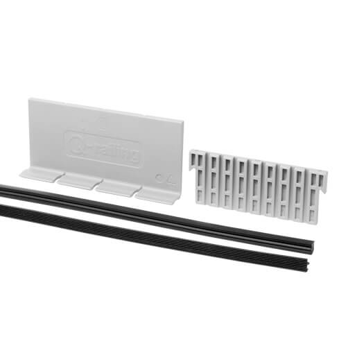Rubber and Wedge Kit - Easy Glass Up - Frameless Glass Balustrade