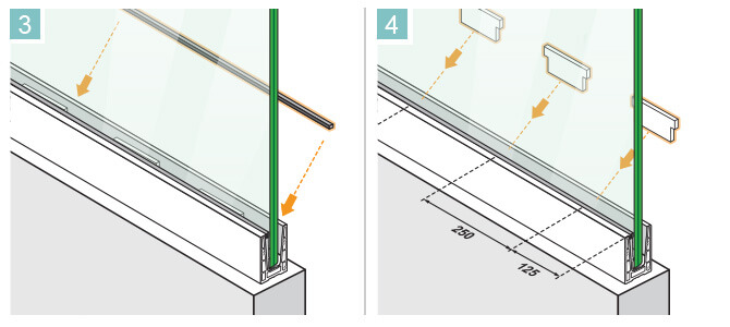 Rubber and Wedge Kit - Glass Positioning