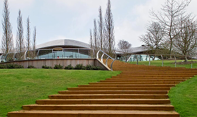 The Savill Garden Visitor Centre