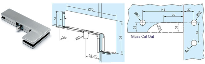 Over Glass Corner Pivot Patch