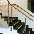 Office Staircase Wire Balustrade