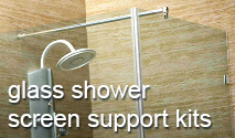 Glass Shower Screen Support Kits