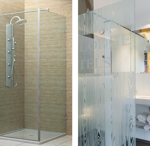 Glass Screen Support Arms - Showers and Bathrooms