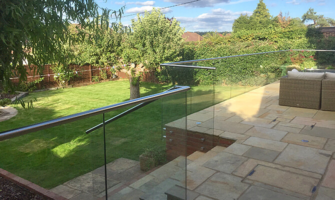 Glass and Stainless Steel Balustrade Installation Slough, Berkshire