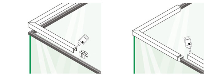 Square In-line Handrail Connector Installation