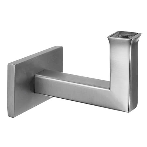 Stainless Steel Square Design Flat Handrail Support