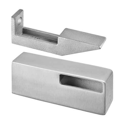 Stainless Steel Bar Rail Flat Fixing Handrail Bracket