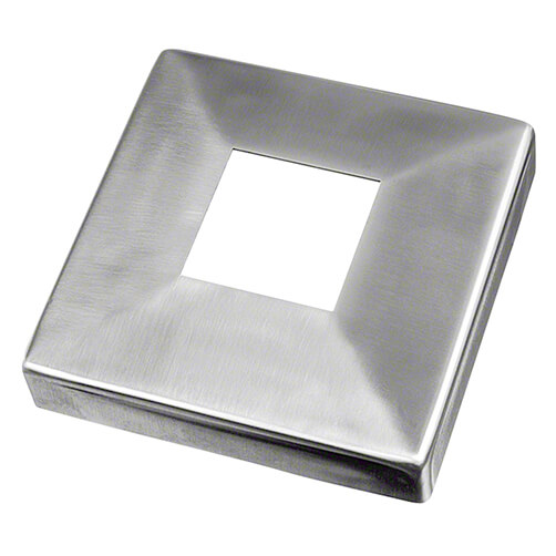 Stainless Steel Square Baluster Post Base Plate